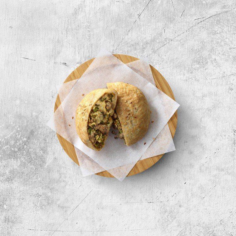 即日起新推出的「起司胡椒餅」,嘗鮮加購價55元。圖/必勝客提供