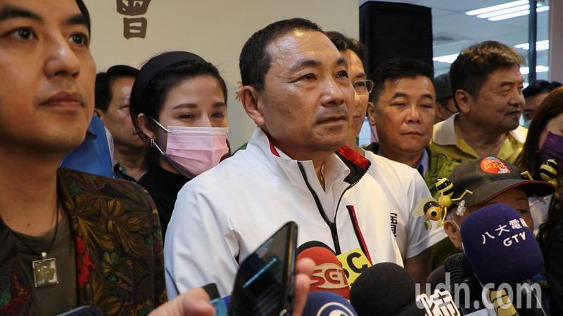 新北市長侯友宜今出席第七屆新北庇護禮發表記者會。記者吳亮賢/攝影