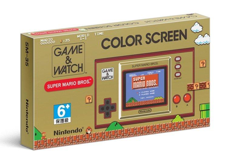 任天堂Nintendo《Game & Watch 超級瑪利歐兄弟》台灣公司貨,1...
