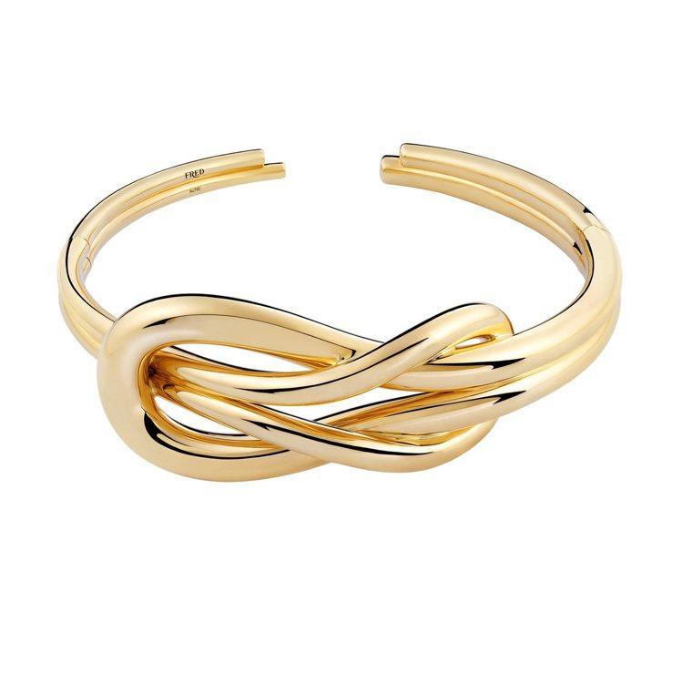 Chance Infinie別注系列黃金頸圈,122萬8,900元。圖/斐登提供