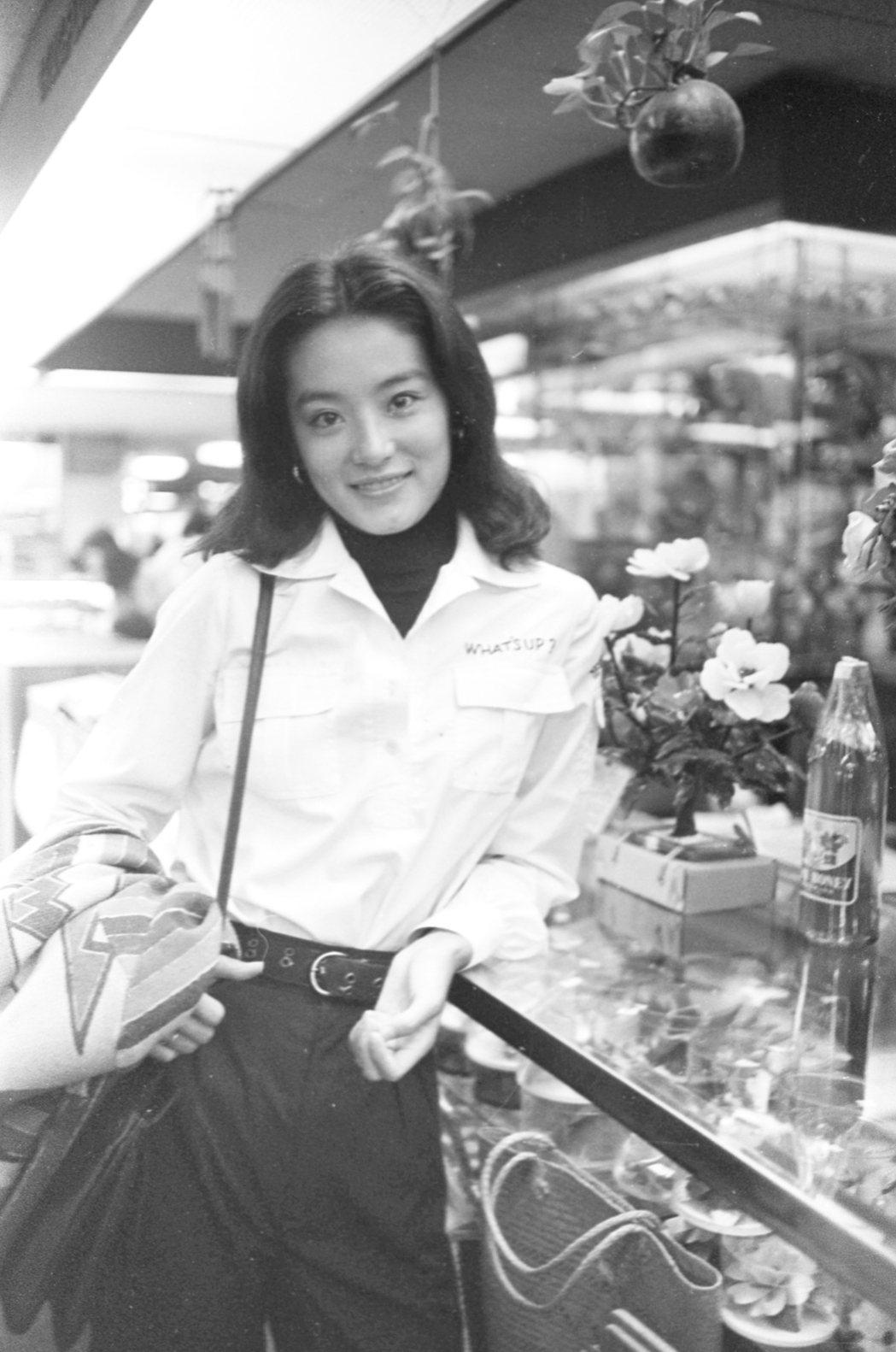 林青霞年輕時就是深觀眾喜愛的玉女。圖/報系資料照片