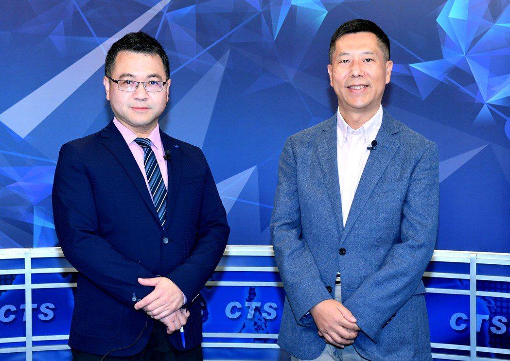 「美選看華視」由鄭朝文與汪浩主持。圖/華視提供