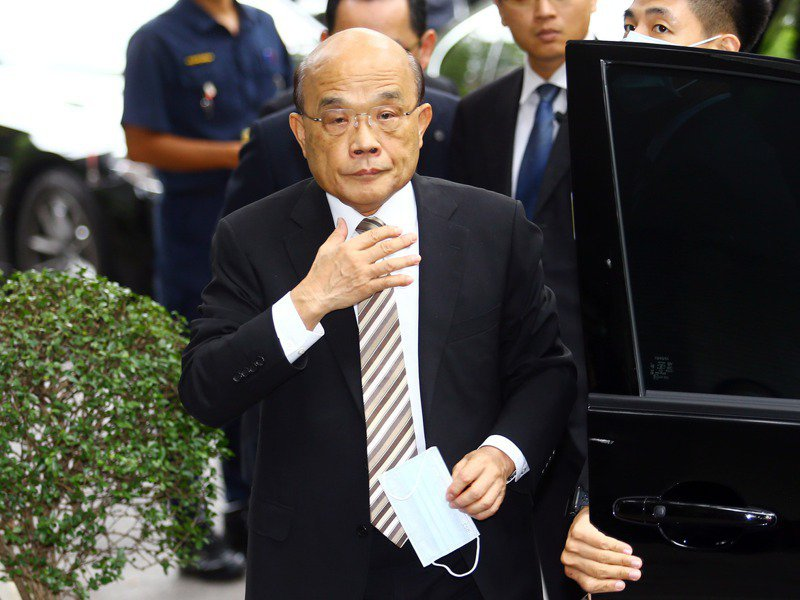 政院多項會議未開,在野黨要求行政院長蘇貞昌道歉。圖/聯合報系資料照片