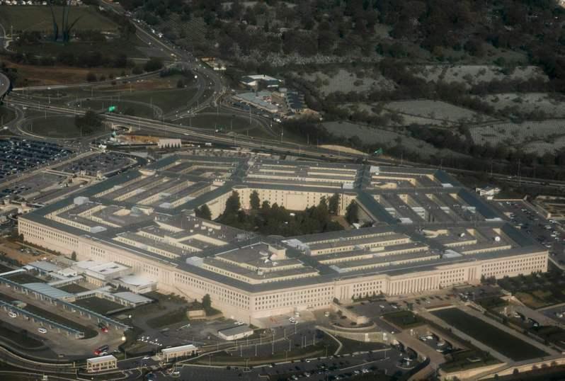 美國國防部近來降低駐非洲國家武官級別或乾脆召回。圖為國防部外觀。法新社