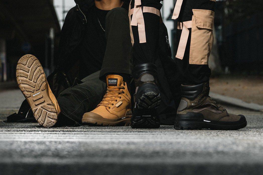 法國經典軍靴品牌PALLADIUM攜手全球輪胎領導品牌MICHELIN,打造全球...