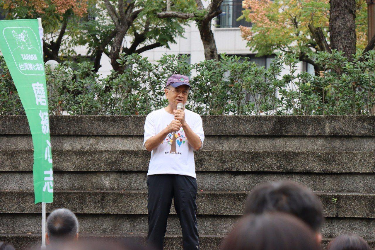 流通教父徐重仁現為台灣美化協會創會理事長 圖/台灣美化協會提供
