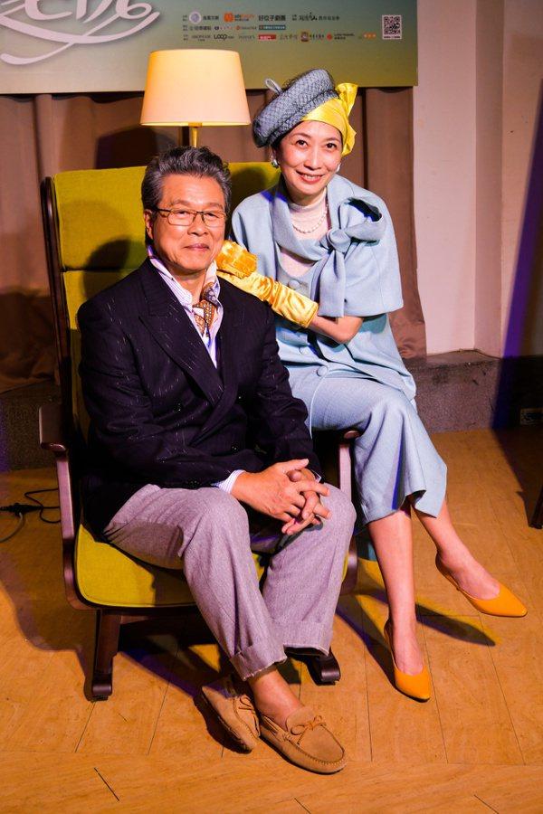 楊烈在最近將上演舞台劇《明星養老院》中,飾演藝界多情才子歌王龍上龍。 圖/金星文...