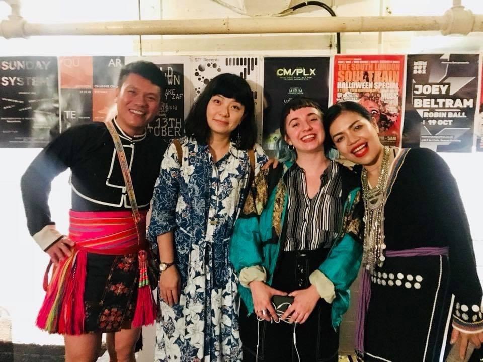 2018年英國北歐臺灣影展前導場,放映紀錄片《扛旗子的人》,也邀請紀錄片主角Su...