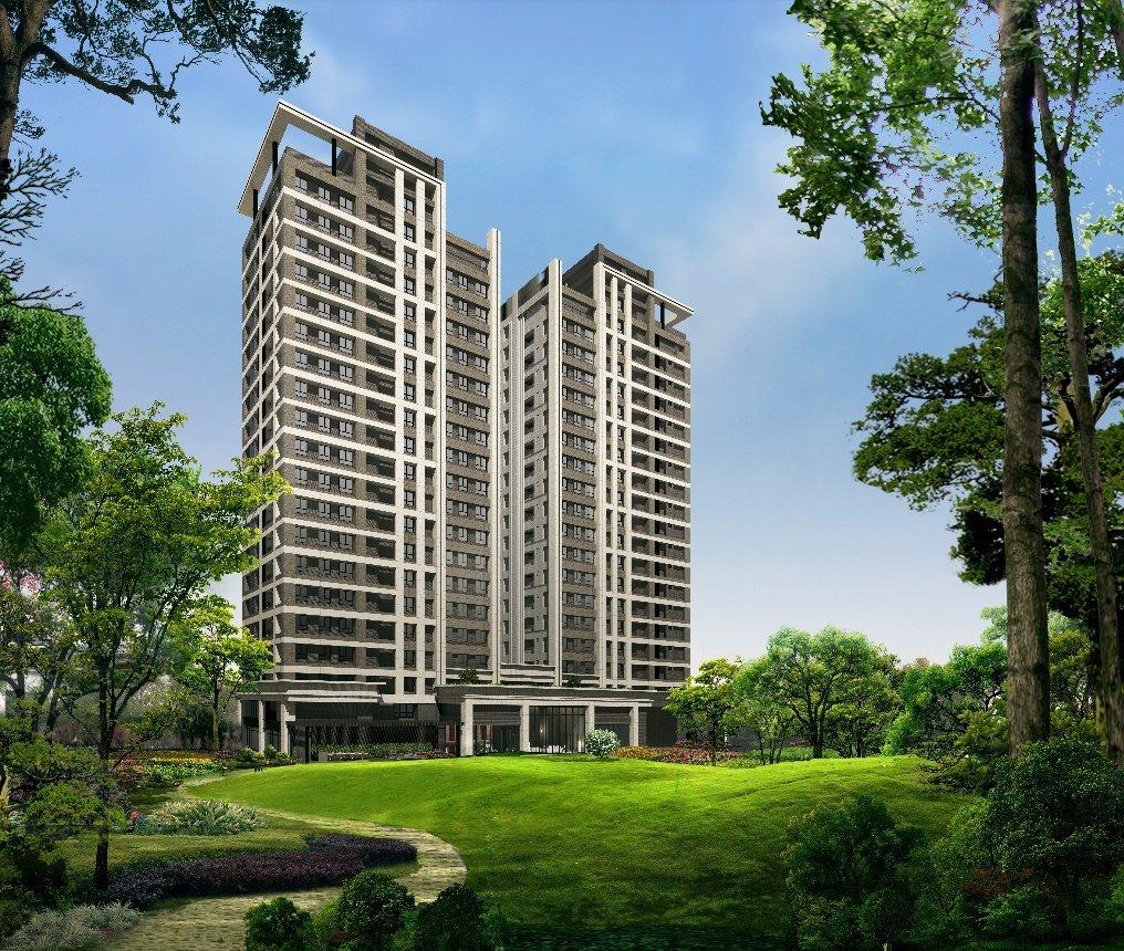 ▲潤泰央北打造央北重劃區20層雙塔大器建築。 圖/潤泰創新 提供