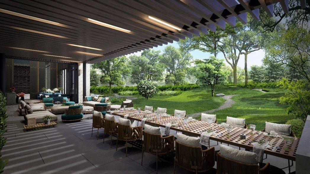 ▲多項公設為住戶帶來豪奢的生活享受。 圖/潤泰創新 提供