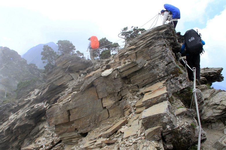 南湖大山與玉山、雪山、秀姑巒山、北大武山合稱「五嶽」。 圖/聯合報系資料照