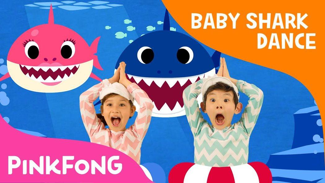 「Baby Shark」目前觀看總數已破70億,在疫情全球大流行期間,成長率高達181%。 圖擷自Youtube