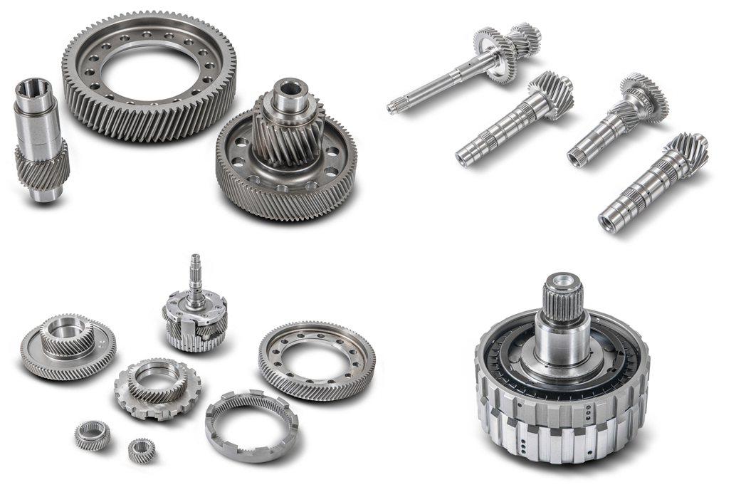 本土公司製造開發的車輛傳動、航太及各式齒輪。 本土公司/提供