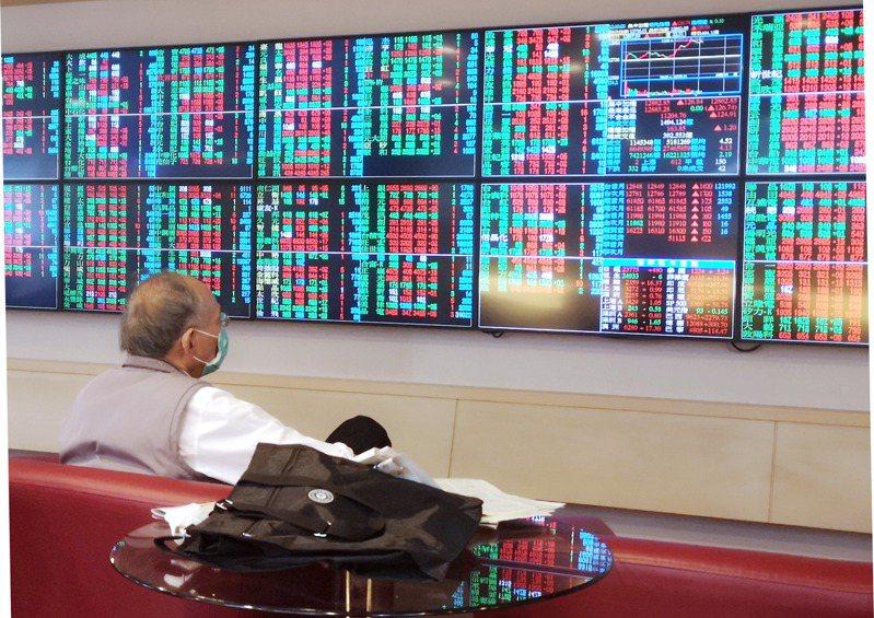 美國大選昨天進行開票作業,全球股市屏息以待,台股昨天以小紅開出,11點之後拉高上漲一百多點,進行高檔震盪,收盤以上漲131.89點作收。 記者邱德祥/攝影