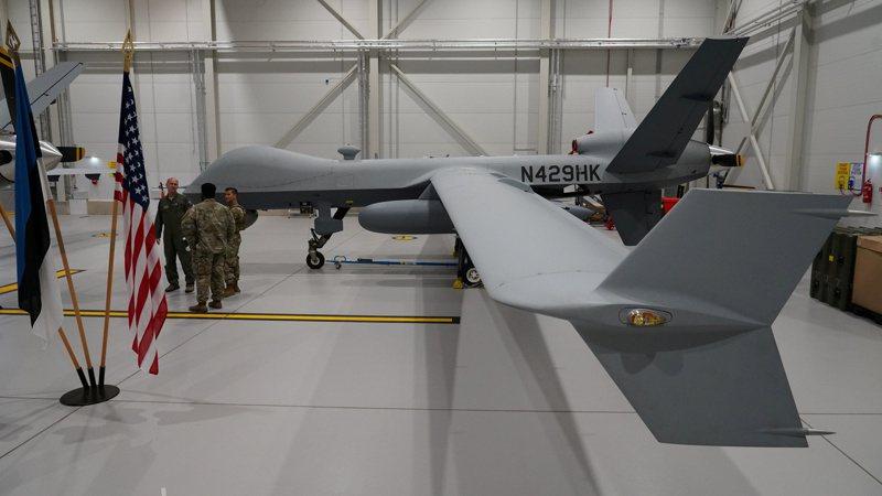 美國政府將出售4架MQ-9B無人機給我國。 路透