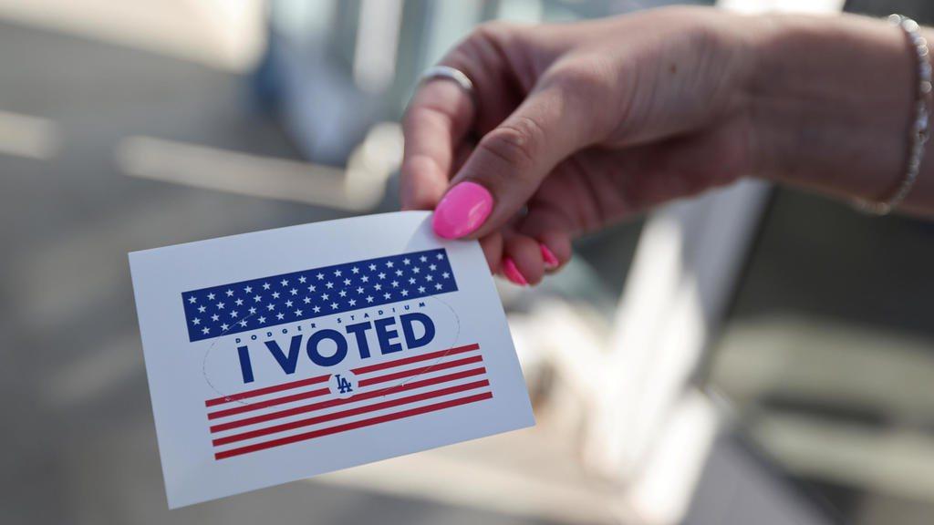 11月3日美國總統大選投票日。 REUTERS