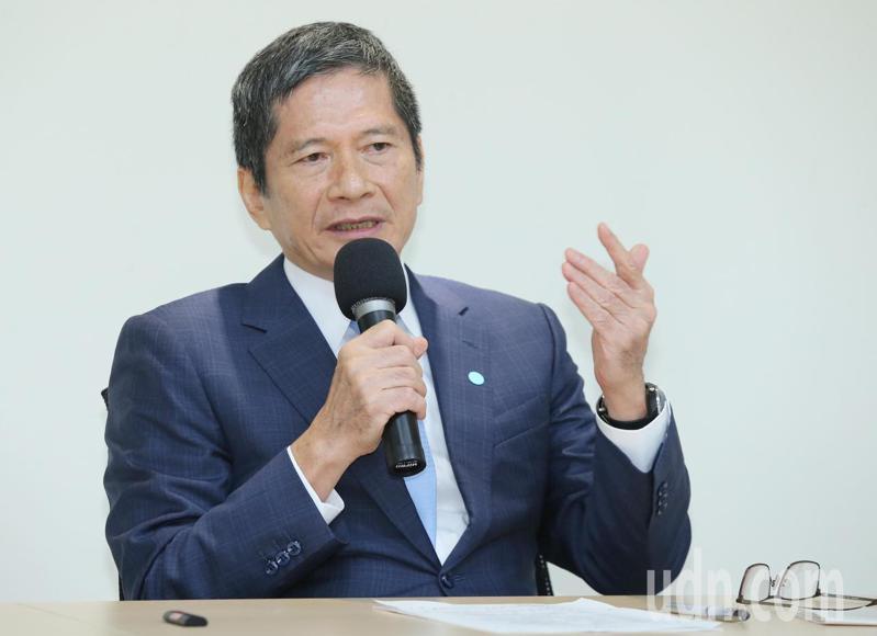 文化部長李永得(圖)上午說明公視董事提名原則,李永得表示提名時有考慮「政治的多元聲音」。記者曾學仁/攝影