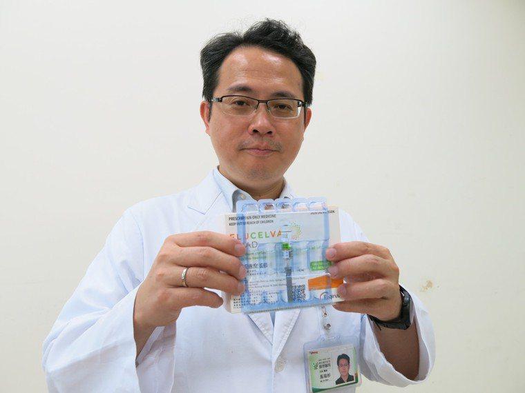 豐原醫院兒童感染科醫師馬瑞杉表示,施打流感疫苗後,身體需2至4周才會產生抗體。圖...