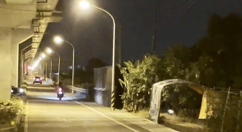 長榮大學馬來西亞籍女大生命案,路燈問題引發爭議。圖/台南市政府提供
