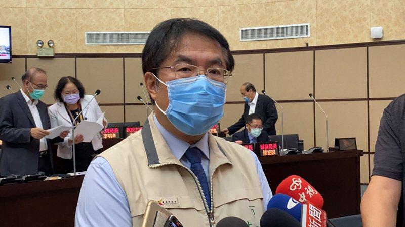 台南市長黃偉哲。記者鄭維真/攝影