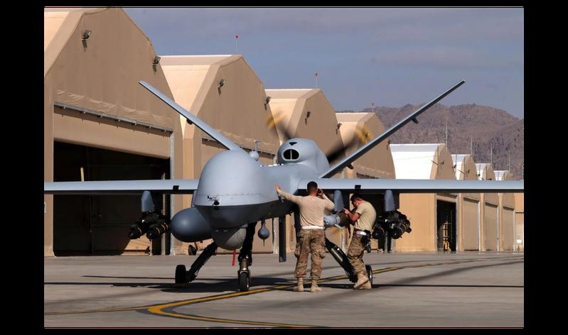 美國批准售台4架海上衛士無人機,大陸專家稱,這些無人機戰時將淪為共軍「靶機」。路透