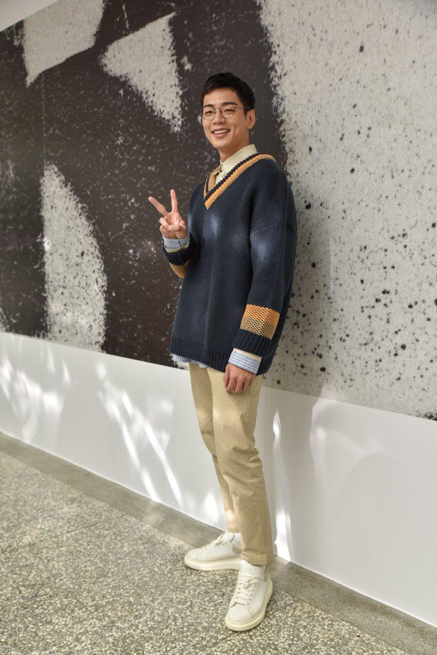 禾浩辰逆齡現身台中亞洲大學。圖/群星瑞智提供