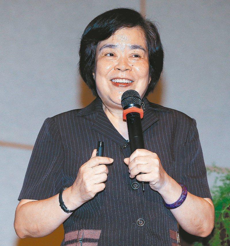 被稱為「台灣安寧療護之母」的趙可式58歲罹患乳癌,後來癌症復發,她正服用標靶藥物治療。圖/聯合報系資料照片