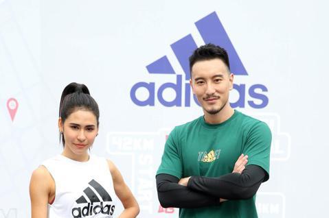 臺北馬拉松將於12月開跑,運動鞋品牌adidas邀請藝人王陽明、雷理莎出席跑翻台北城市Online Run記者會,並與手機APP結合推出12條風格路線,邀請大家透過跑步探索台北市。