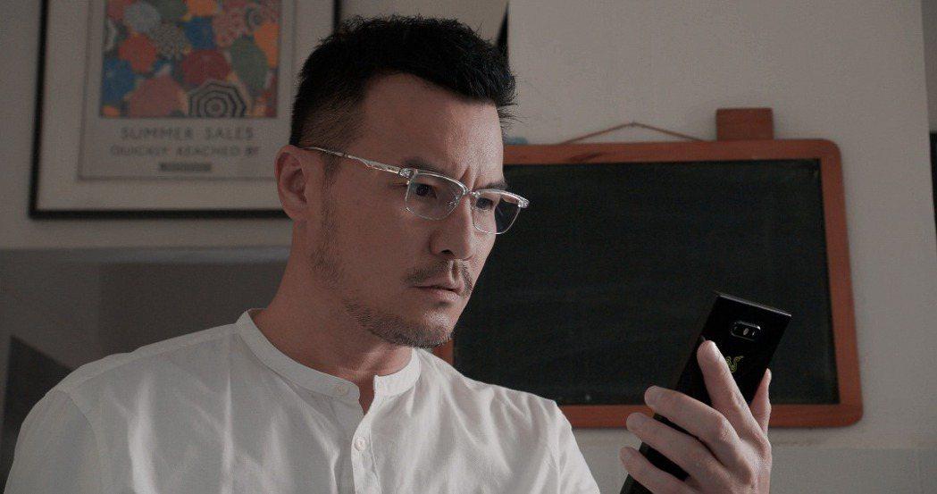 李銘忠以「心眼」入圍2020亞洲電視大獎男配角獎。圖/凱渥提供