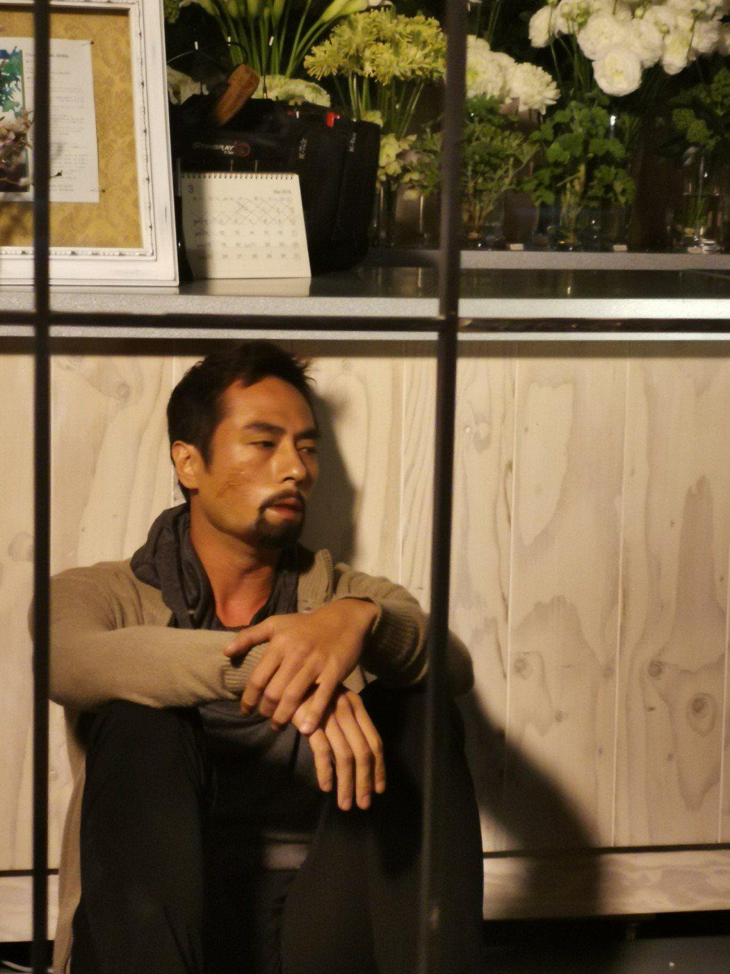 莊凱勛以「伺機」中的精壯格鬥選手角逐亞洲電視大獎最佳男主角。圖/凱渥提供