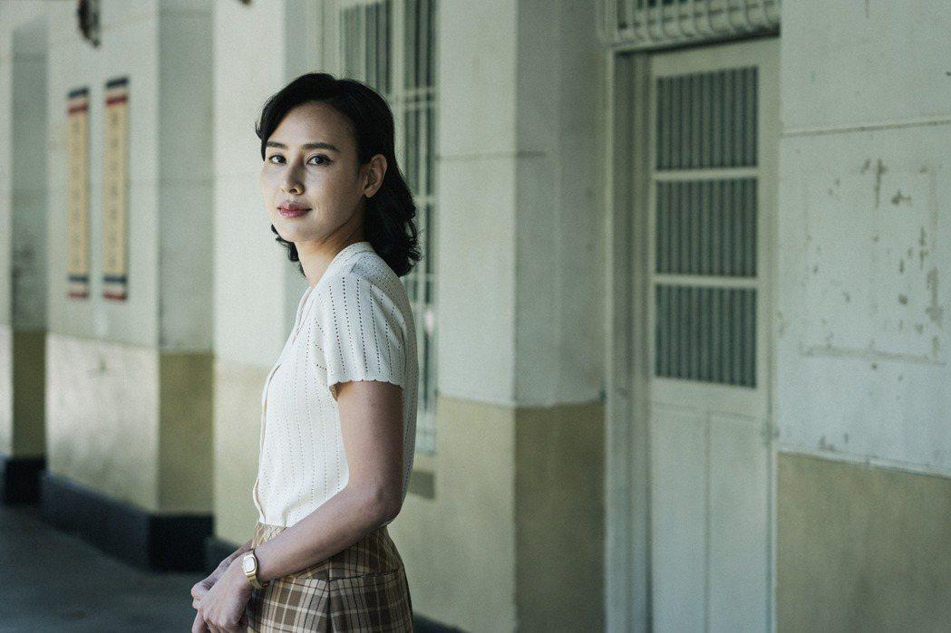 房思瑜在「返校」影集中飾演原作裡的經典角色「殷翠涵」。圖/公視提供