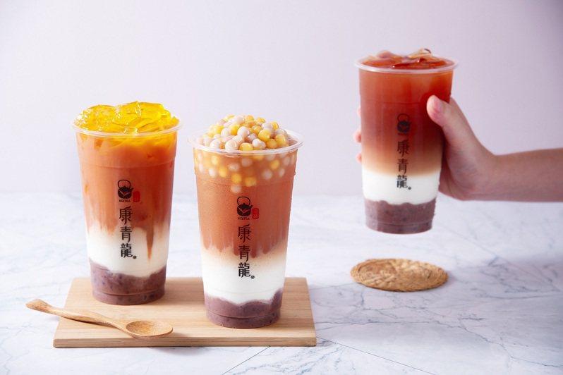 康青龍推出全新「茶蘊相思」系列圖/康青龍提供