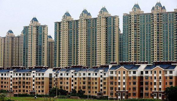 大陸10月40個典型城市新建商品住宅成交面積較上月小幅下降3%。 圖/取自界面新聞