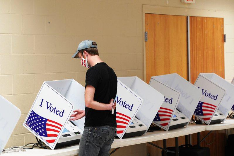 美國大選結果尚未出爐,全世界都在矚目。歐新社
