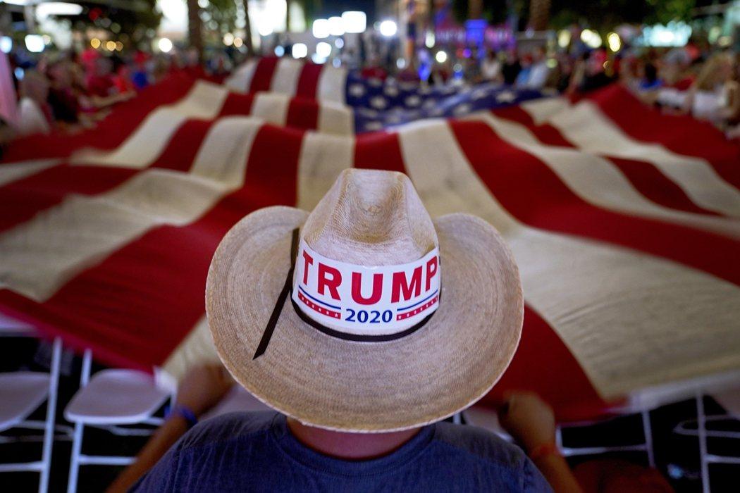 圖為亞利桑那州支持者。 圖/美聯社