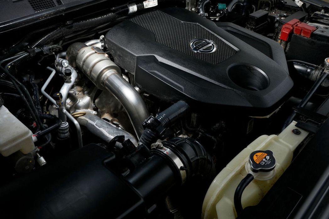 2.3升四缸雙渦輪增壓柴油引擎,有188hp/45.8kgm的動力輸出。 圖/N...