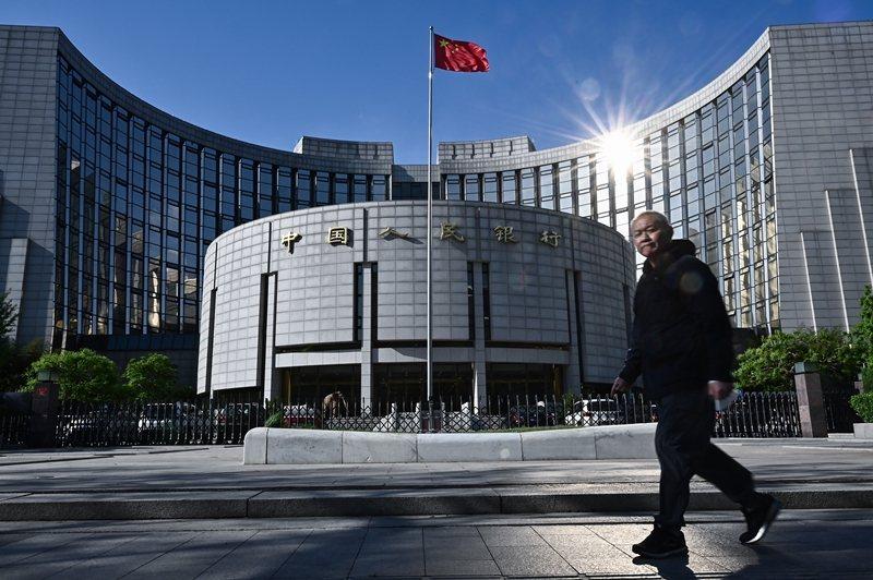 中國央行數位貨幣研究所所長穆長春日前透露,在試點市場已發現偽造數位人民幣錢包。圖為中國央行。 圖/中新社