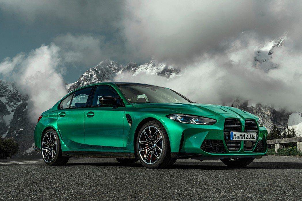 新世代BMW G80 M3將於明年三月正式販售。 摘自BMW