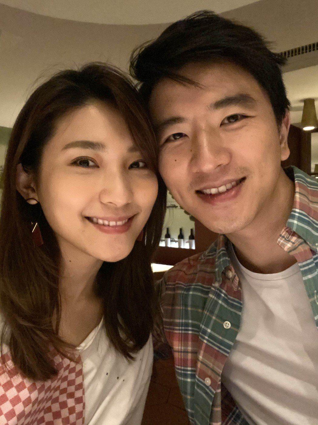 曾詠熙(左)和音樂人男友T-MA(馬敬恆)交往3年半。圖/Blue Moon P