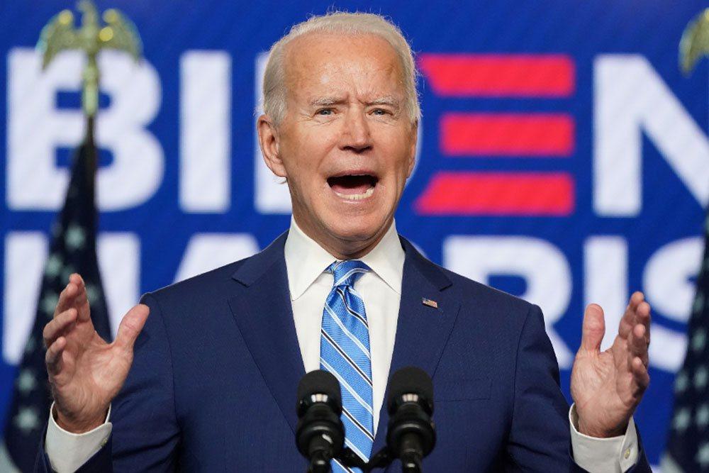 民主黨總統候選人拜登。路透社