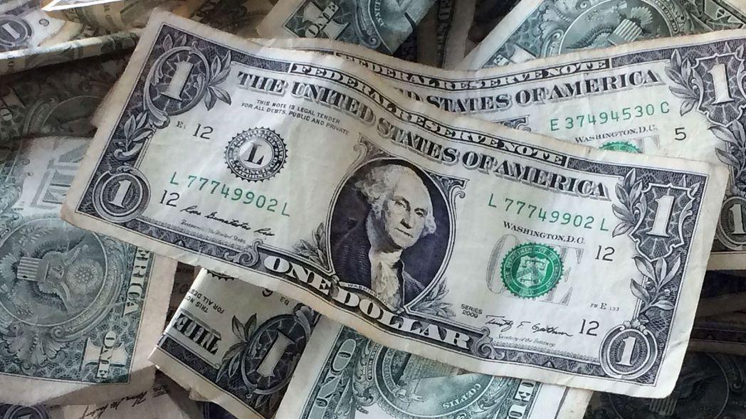 美元。 (路透)