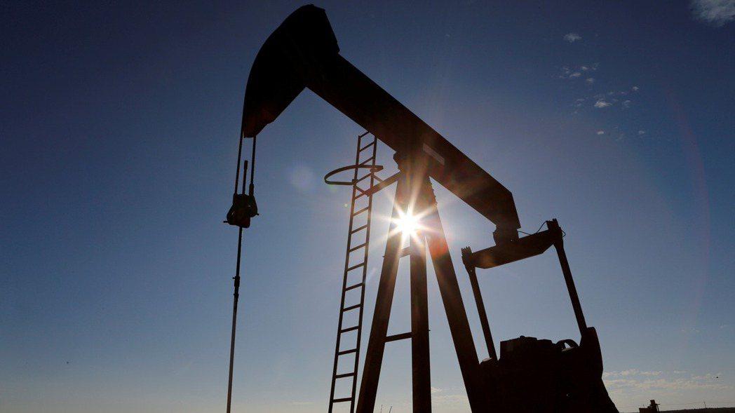 國際原油價格從八個月高點回落。 (路透)