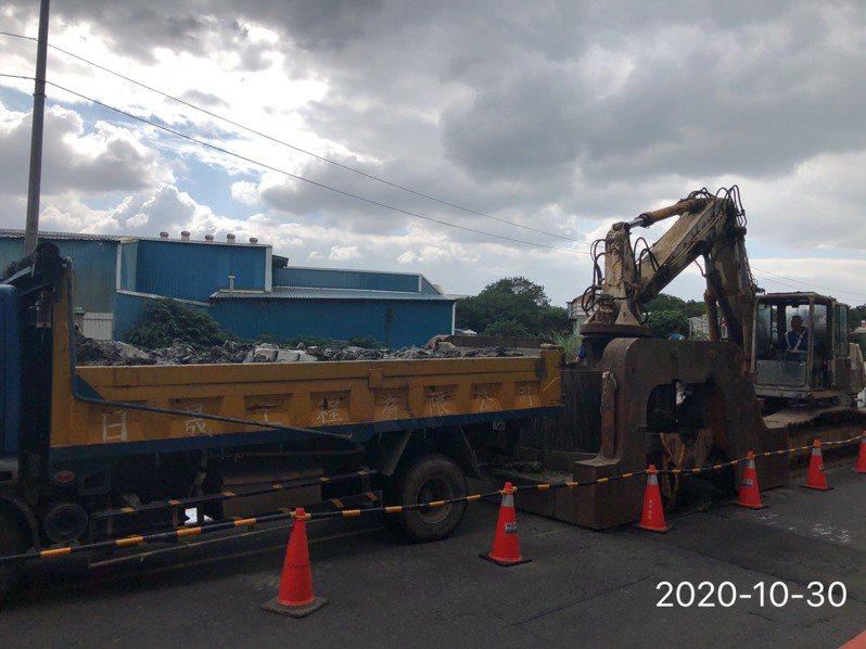 新北泰山汙水下水道正在施作,預計2024年完工。圖/水利局提供