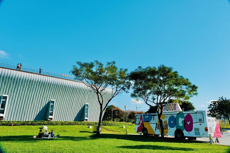 Artgogo新北美術號即日起自11月8日在十三行博物館巡迴駐點。圖/新北市文化局提供