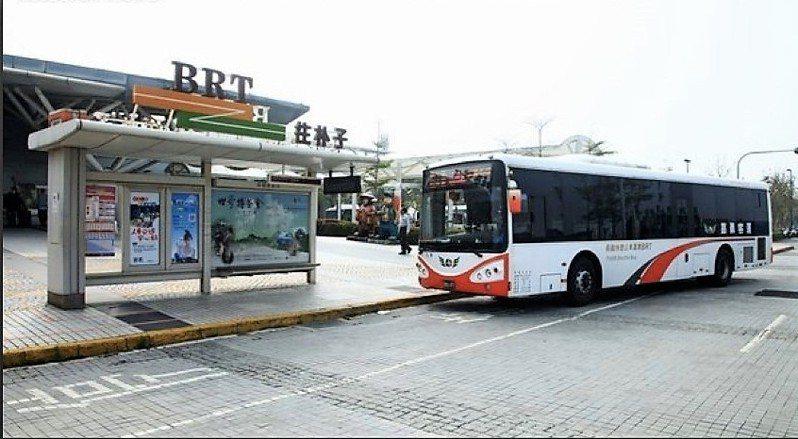 鄭光宏希望市府加快腳步,讓BRT路段未來能升級成輕軌或台鐵支線共構。圖/鄭光宏提供