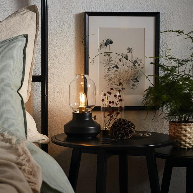 古典別緻的TÄRNABY桌燈雙11網購優惠,原價649元,折扣後552元。圖/I...