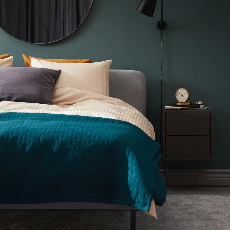 IKEA雙11網路購物優惠,寢具織品全面限時優惠。圖/IKEA提供