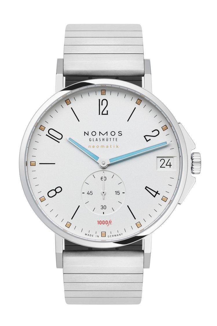 獲得2020年iF設計獎項肯定的NOMOS Tangente Sport neo...