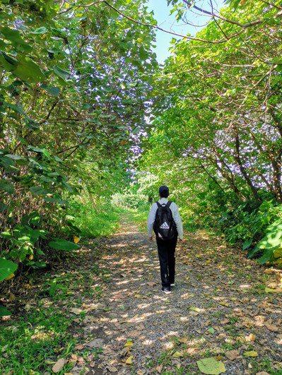 我外出郊遊或健行,多走訪生態公園,可以吸收芬多精。圖╱王錫璋提供
