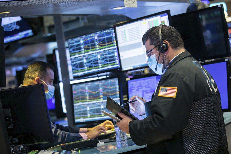 美國股市早盤大漲,選舉不確定性消散助漲股市。   美聯社